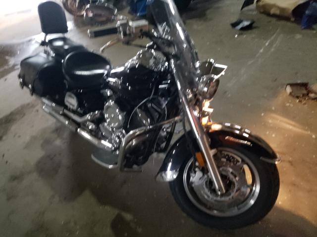 Salvage motorcycles for sale at Woodhaven, MI auction: 2006 Yamaha XVS1100 A
