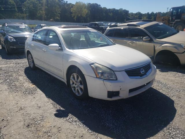 Salvage cars for sale from Copart Gastonia, NC: 2008 Nissan Maxima SE