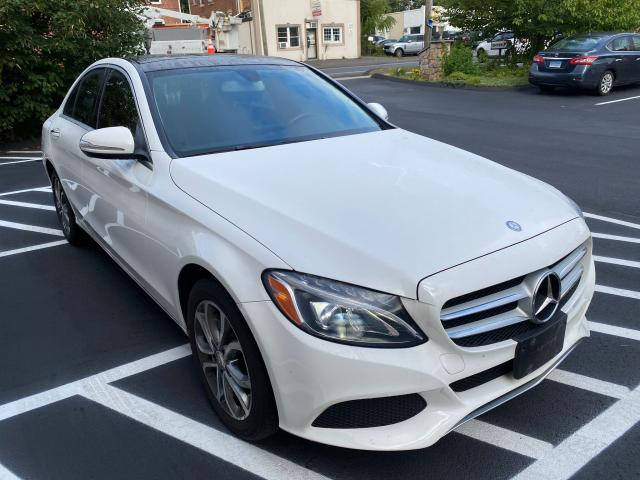 Mercedes-Benz salvage cars for sale: 2015 Mercedes-Benz C 300 4matic