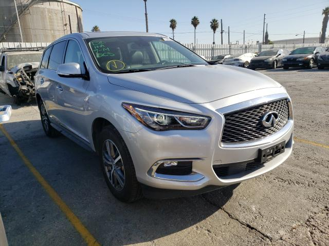 Salvage cars for sale from Copart Wilmington, CA: 2020 Infiniti QX60 Luxe