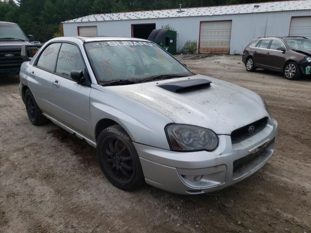 Salvage cars for sale at Lyman, ME auction: 2004 Subaru Impreza WR
