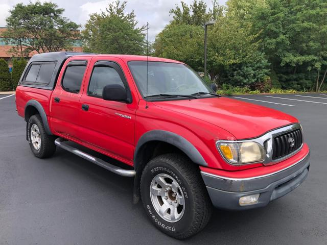 Salvage cars for sale from Copart New Britain, CT: 2001 Toyota Tacoma DOU