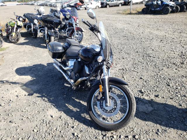 Salvage motorcycles for sale at Eugene, OR auction: 2005 Yamaha XVS1100 A