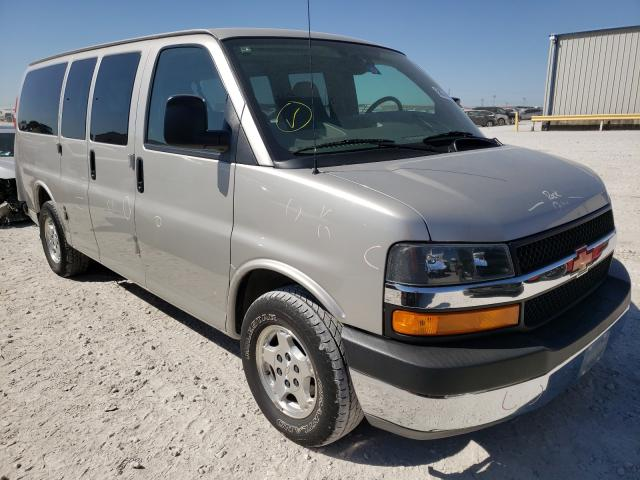 Salvage cars for sale from Copart Haslet, TX: 2005 Chevrolet Express G1
