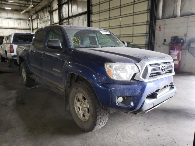 Toyota salvage cars for sale: 2015 Toyota Tacoma DOU