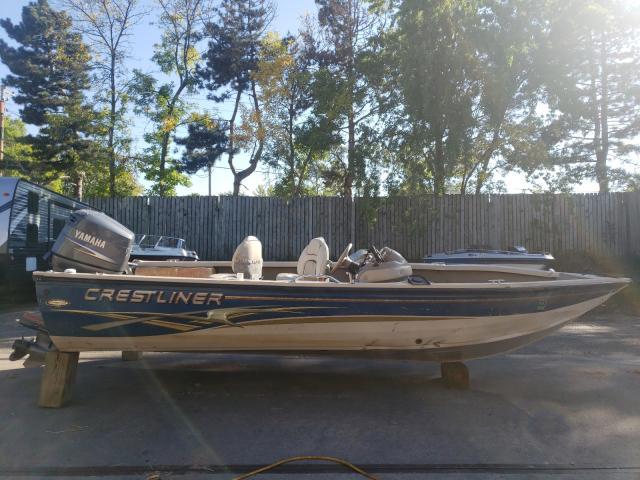Crestliner salvage cars for sale: 2003 Crestliner Boat