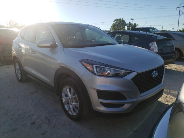 Salvage cars for sale at Oklahoma City, OK auction: 2019 Hyundai Tucson SE