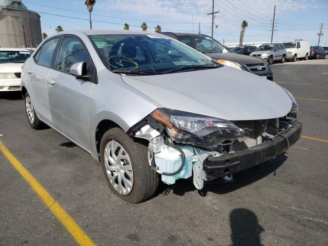 Salvage cars for sale from Copart Wilmington, CA: 2019 Toyota Corolla L