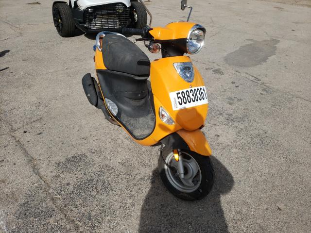 Salvage motorcycles for sale at Elgin, IL auction: 2009 Genuine Scooter Co. Buddy 50