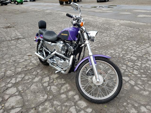 Salvage cars for sale from Copart West Mifflin, PA: 2002 Harley-Davidson XL1200 C