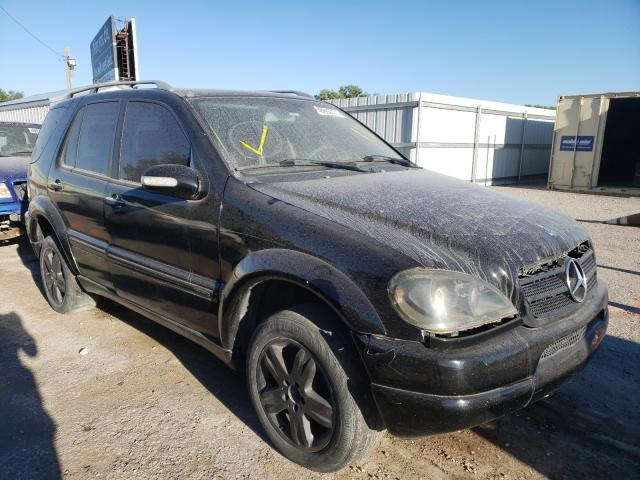 Salvage cars for sale at Wichita, KS auction: 2005 Mercedes-Benz ML 350