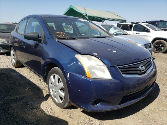 Salvage cars for sale from Copart San Martin, CA: 2012 Nissan Sentra 2.0