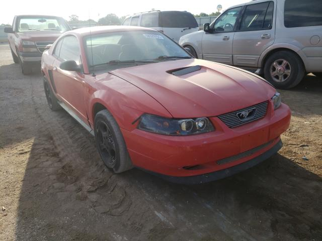 Salvage cars for sale from Copart Wichita, KS: 2001 Ford Mustang