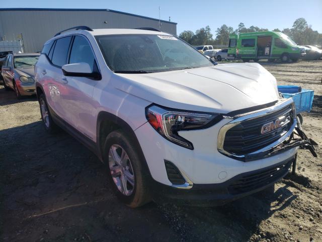 GMC Terrain salvage cars for sale: 2020 GMC Terrain