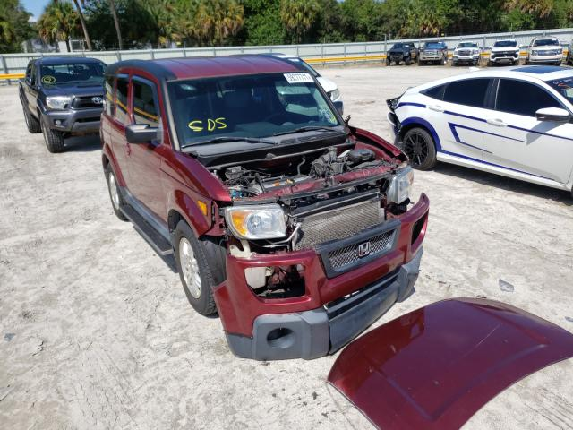 Salvage cars for sale from Copart Fort Pierce, FL: 2006 Honda Element EX