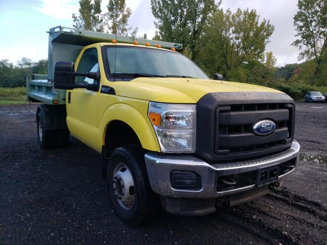 Salvage cars for sale from Copart Marlboro, NY: 2011 Ford F350 Super