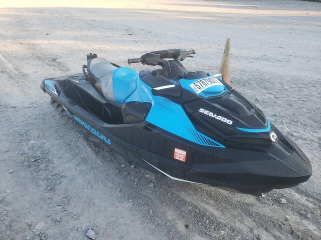 Salvage boats for sale at Madisonville, TN auction: 2019 Seadoo RXT230