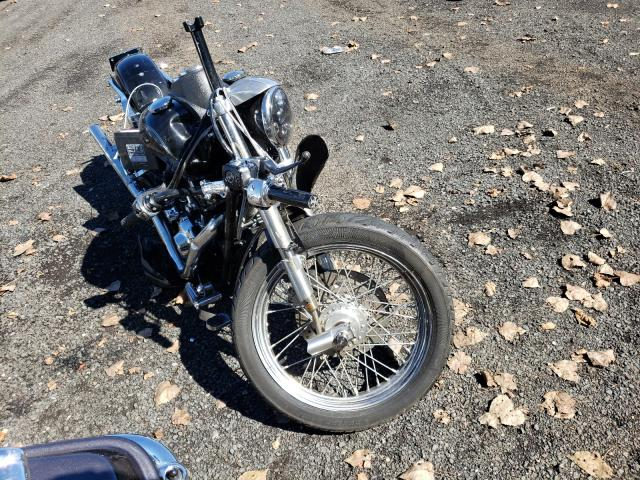 Salvage motorcycles for sale at New Britain, CT auction: 2004 Harley-Davidson Fxdli