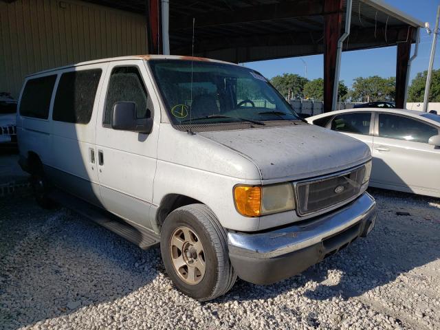 Vehiculos salvage en venta de Copart Homestead, FL: 2006 Ford Econoline