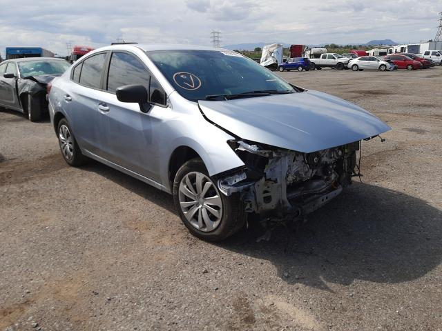 Salvage cars for sale at Tucson, AZ auction: 2018 Subaru Impreza