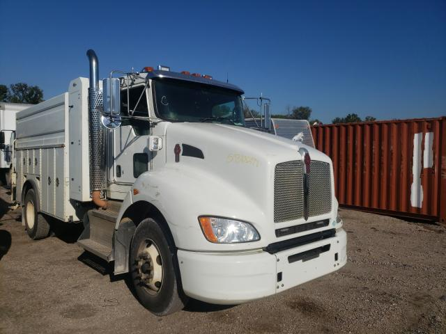 Salvage trucks for sale at Hueytown, AL auction: 2011 Kenworth Construction