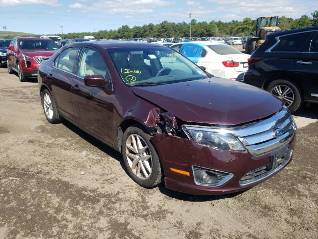Salvage cars for sale from Copart Brookhaven, NY: 2012 Ford Fusion SEL