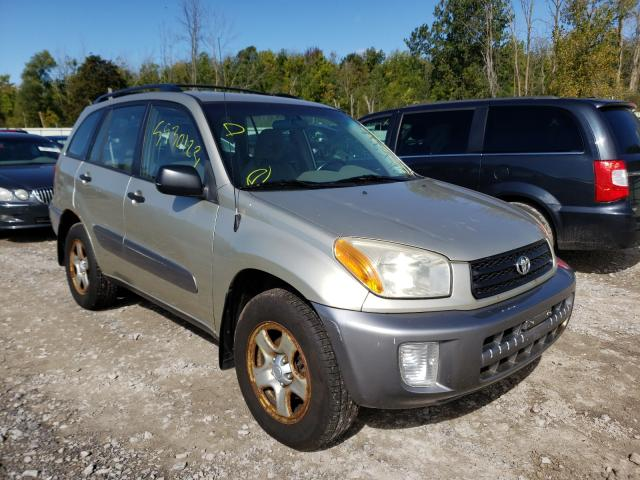Salvage cars for sale from Copart Leroy, NY: 2003 Toyota Rav4