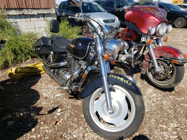 Salvage motorcycles for sale at Windsor, NJ auction: 2003 Honda VT1100 C2