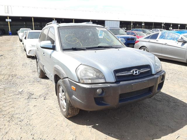 Salvage cars for sale from Copart Phoenix, AZ: 2006 Hyundai Tucson GLS