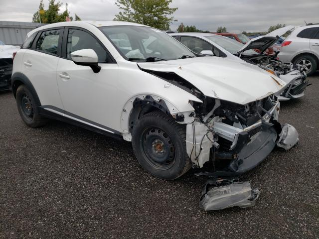 Salvage cars for sale from Copart Bowmanville, ON: 2016 Mazda CX-3 Grand Touring