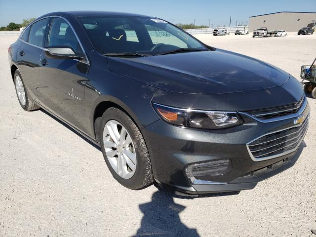 Salvage cars for sale from Copart San Antonio, TX: 2018 Chevrolet Malibu LT