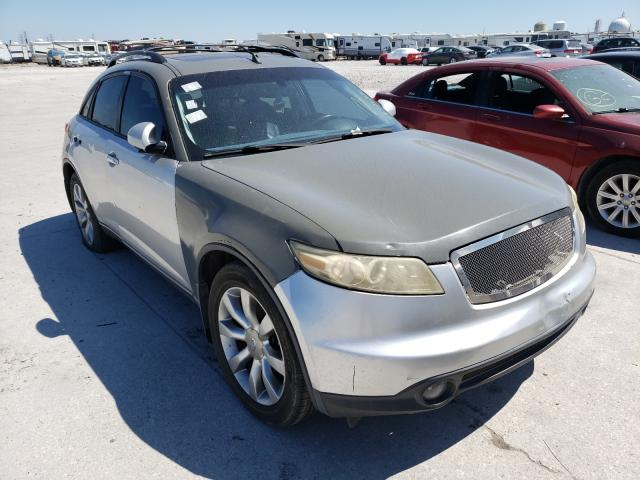 Salvage cars for sale from Copart New Orleans, LA: 2004 Infiniti FX35