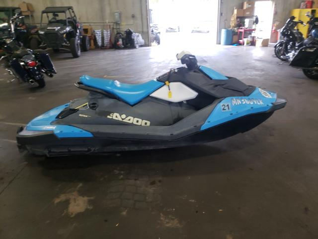 Salvage boats for sale at Ham Lake, MN auction: 2016 Seadoo Spark