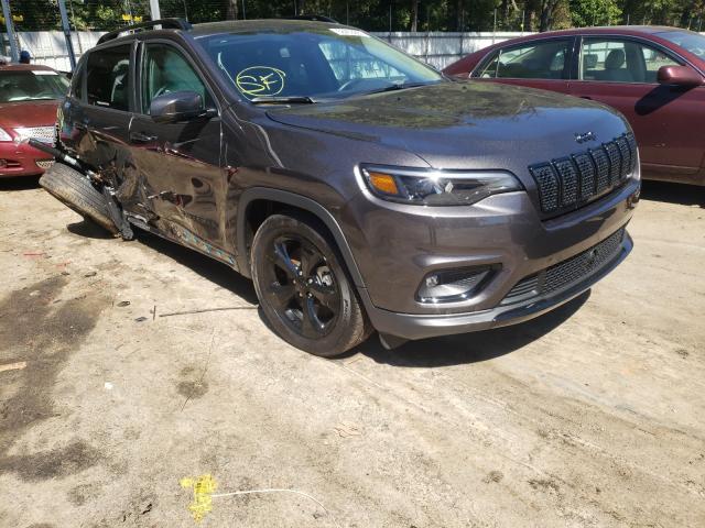 Vehiculos salvage en venta de Copart Austell, GA: 2021 Jeep Cherokee L