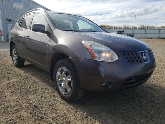 Salvage cars for sale from Copart Nisku, AB: 2009 Nissan Rogue S