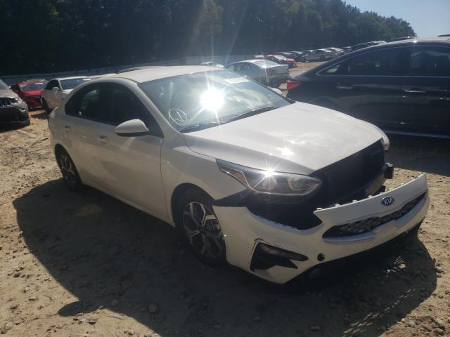Salvage cars for sale from Copart Austell, GA: 2020 KIA Forte FE