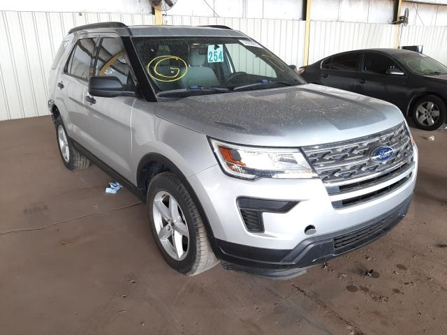 Salvage cars for sale from Copart Phoenix, AZ: 2018 Ford Explorer