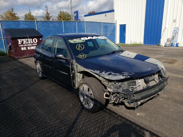 Salvage cars for sale at Moncton, NB auction: 2008 Saab 9-3 Aero
