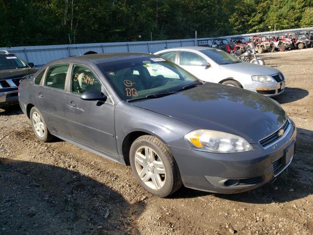 Salvage cars for sale at Lyman, ME auction: 2009 Chevrolet Impala 2LT