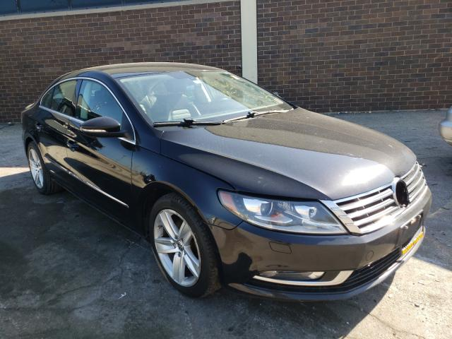 Salvage cars for sale from Copart Wheeling, IL: 2013 Volkswagen CC Sport