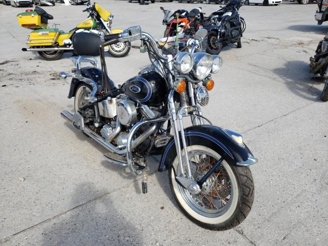 Salvage motorcycles for sale at New Orleans, LA auction: 1998 Harley-Davidson Flsts