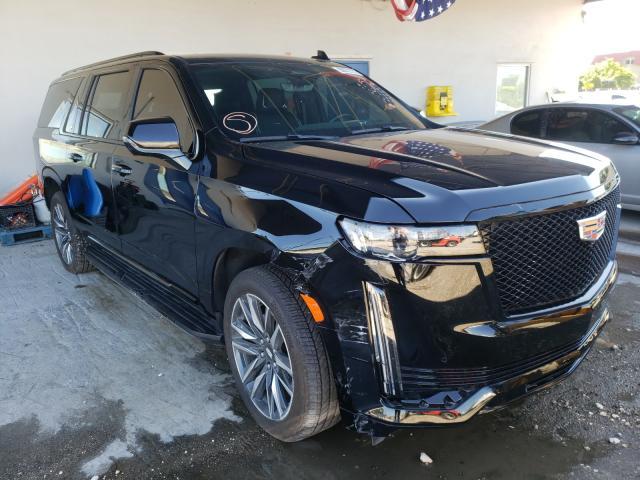Cadillac Vehiculos salvage en venta: 2021 Cadillac Escalade E