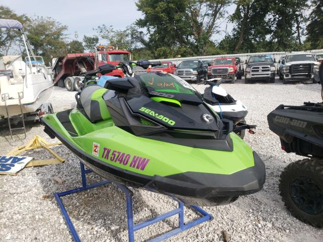 Salvage boats for sale at Rogersville, MO auction: 2020 Seadoo RXP SEA DO