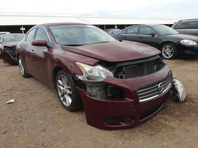 Salvage cars for sale from Copart Phoenix, AZ: 2011 Nissan Maxima S