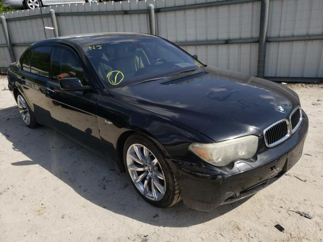 Salvage cars for sale from Copart Punta Gorda, FL: 2005 BMW 745 LI