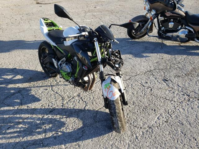 Salvage cars for sale from Copart Rogersville, MO: 2017 Kawasaki ER650 G
