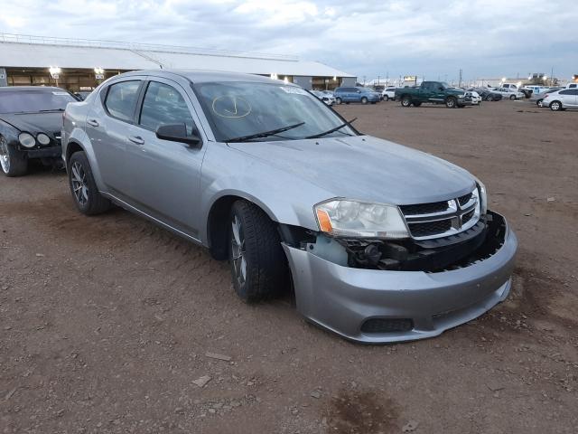 Salvage cars for sale from Copart Phoenix, AZ: 2014 Dodge Avenger SE