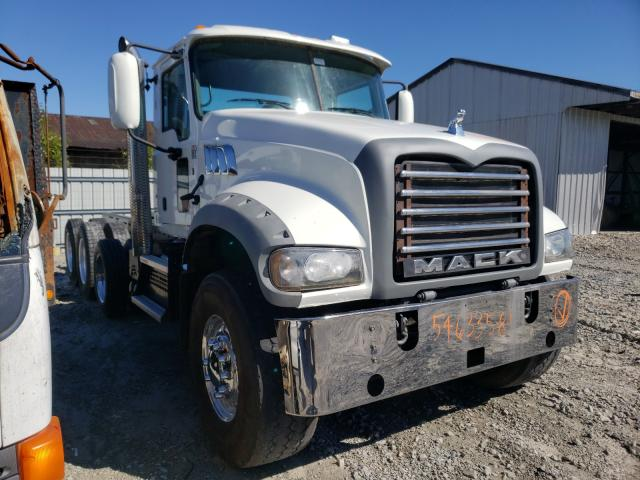 Upcoming salvage trucks for sale at auction: 2018 Mack 700 GU700