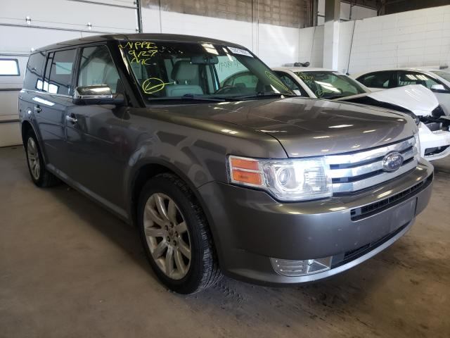 Salvage cars for sale from Copart Blaine, MN: 2009 Ford Flex Limited