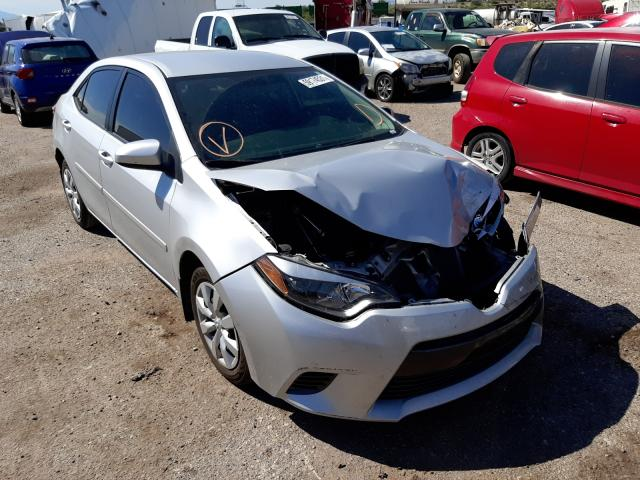 Salvage cars for sale at Tucson, AZ auction: 2015 Toyota Corolla L